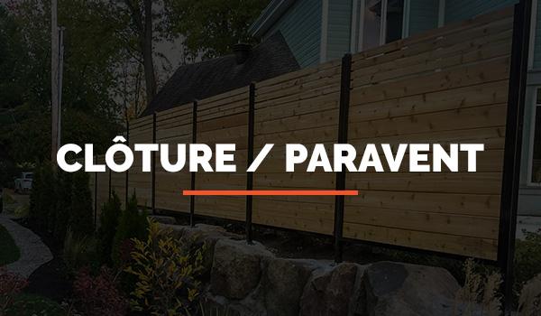 Section Clôture - Paravent Intimité